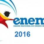 ENEM 2016 Inscrições e vagas