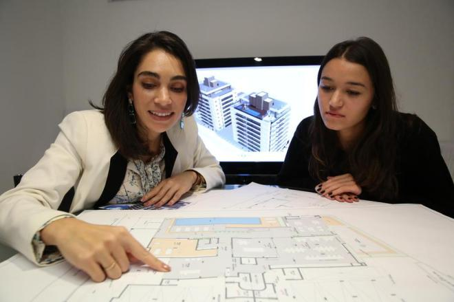 Alunas de Arquitetura (Foto: Divulgação)