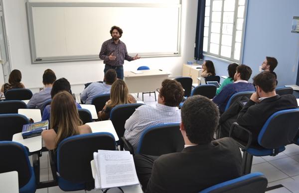 Aula de Direito (Foto: Divulgação)