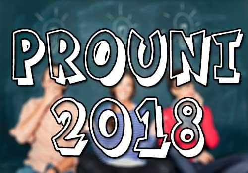 Inscrições Prouni 2018